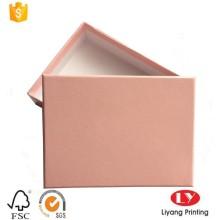 caja de regalo de embalaje de papel hecho a mano bufanda hecha a mano