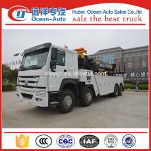 8*4 Sinotruk Howo Winch Tow Trucks For Sale