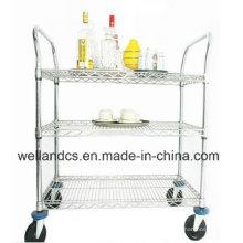 Restaurante Hotel Metal Bar Trolley (HD244836A3CW)