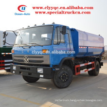 2015 new condition Hydraulic Lifter Rubbish Collector with 12cbm capacity