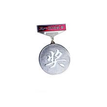 3D logo personnalisé en alliage de zinc moulé sous pression en métal badge