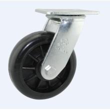 H13-1 Roulement à billes double type à roulement à haute pression Rouleau de type pivotant résistant à haute température en nylon rouge