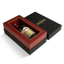 Роскошная подарочная коробка для вина по низкой цене Hotsale