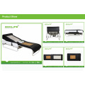 Spiral Screw+ Jade Rollers Lift up and Down, and Wit Back Electric Lift Adjustable Thermal Massage Bed with Lifter