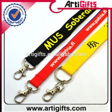 Promotional Cheap custom polyester lanyard for sale
