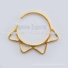 Septum Nariz Anillo Joyas al por mayor tribales de joyería Septum Piercing nariz anillos de joyería exportadores