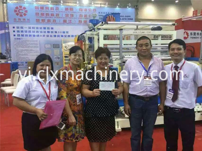 Qingdao Exhibition 2015 Changlong Stretch Film Equipment