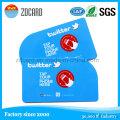 Carte à puce sans contact de PVC d'impression de couleur de quatre couleurs / identification 13.5MHz NFC