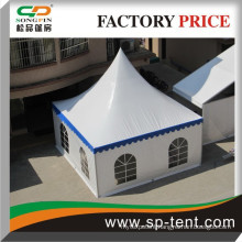 6x6m PVC window walls wedding party waterproof tent canopy for small catering events