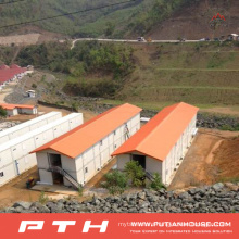 China Prefabricated Container House as Temporary Living Home