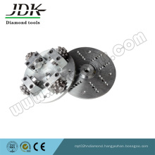 125mm Rotary Diamond Bush Hammer for Stone and Concrete Grinding