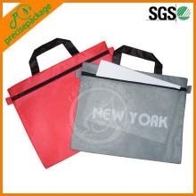 Bolsa de documentos con cremallera impermeable A4, A5, A6