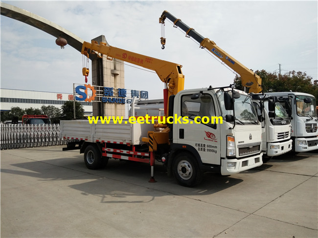 4ton Truck Mounted Articulating Cranes
