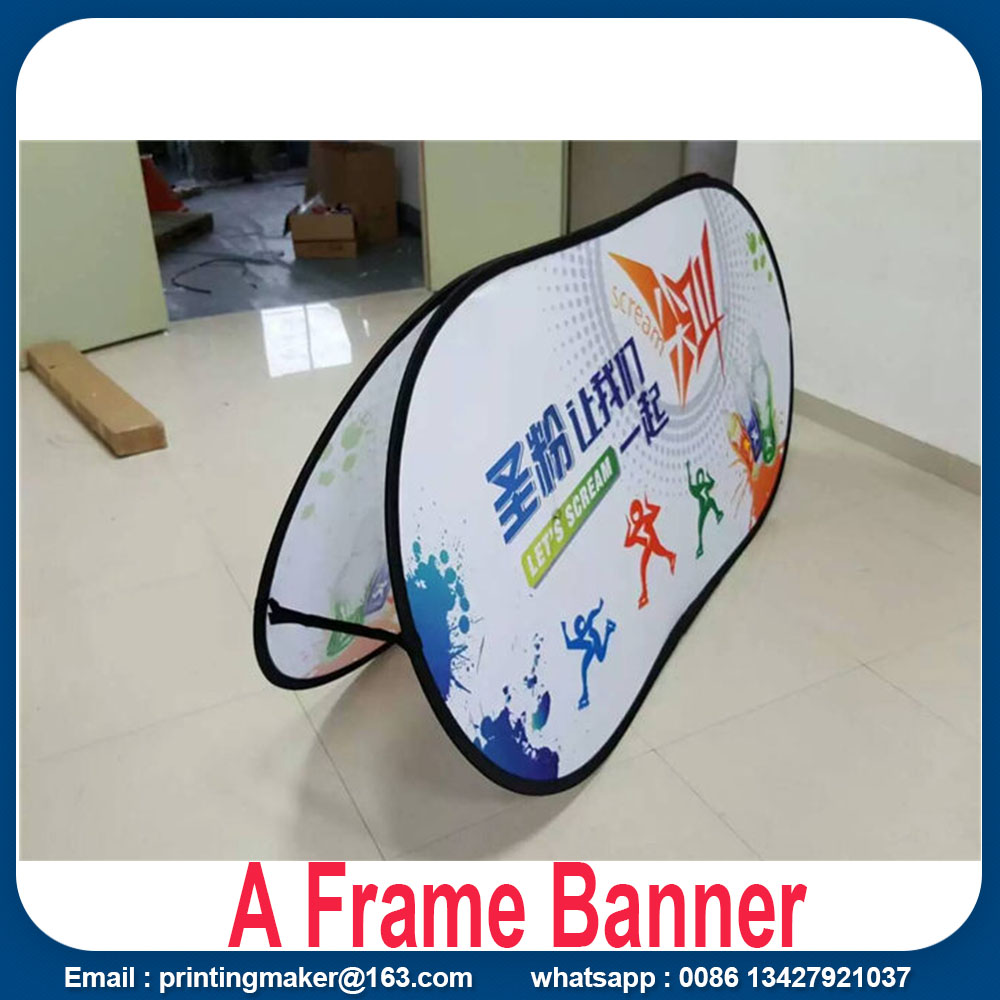 fabric pop up banners