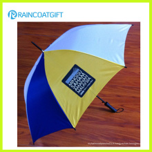 """Parapluie de golf de publicité d'axe de fibre de verre de 30 """"* 8k"""