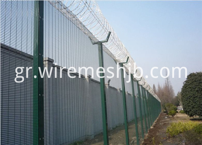 Welded Airport Fence