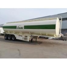 Semi-reboque tanque de combustível de aço carbono 45000L