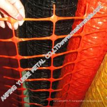 Barrière de sécurité d'avertissement de HDPE