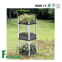 Eco Friendly Flower Terrace/ Flower Bed/Wood Plastic Composite Flower Box