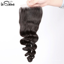 Large Stock Best Quality Dropshipping Unprocessed Indian Temple Lace Closure