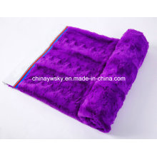 Plush Embossed PV Fleece Fabric