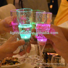 China Manufactuer Liquid Active Flash Long Drink Glass
