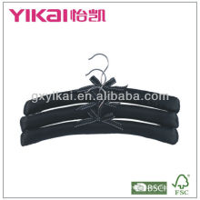 Wholesale Black Fabric Hanger