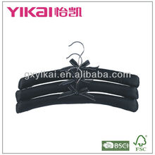 Atacado cabide de tecido preto