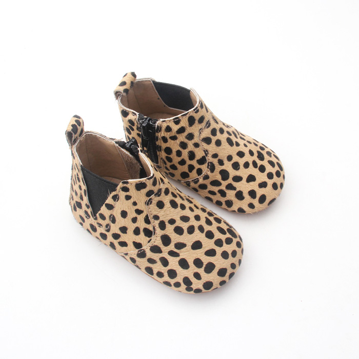 Baby Ankle Boots Soft Leather infant shoes