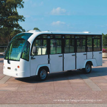 Venta caliente 14-Asientos Electric City Bus con puertas en venta (DN-14F)