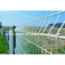 Забор из проволочной сетки Fuhua оцинкованный и покрытый ПВХ