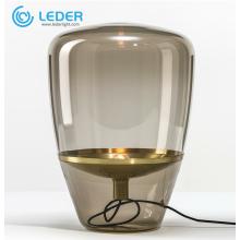 Lámpara de mesa auxiliar con lámpara pequeña LEDER