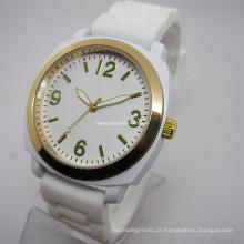 Relógio colorido do silicone (HAL-1270)