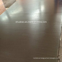 Madera contrachapada impermeable del pegamento fenólico usada para el hormigón