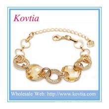 Bracelet de charme en bijoux en gemme à bijoux en mode Dubai