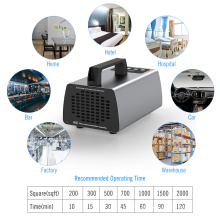 Stylish Car Air Cleaner Ozone Generator Portable Sterilize Machine 10g Living Room Wine Bar Air Cleaners