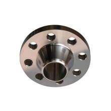 Flange de pescoço de solda de aço inoxidável ASME B16.5 / B16.47