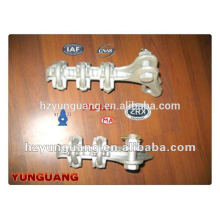 strain tension clamp cable clamp overhead line fitting electric power transmission line fitting pole hardware fitting