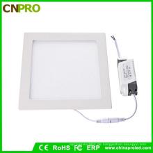 Günstigen Preis Rahmenlose Quadratische Form LED-Panel Licht