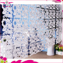 Beautiful outdoor chinese folding screen in wood-plastic