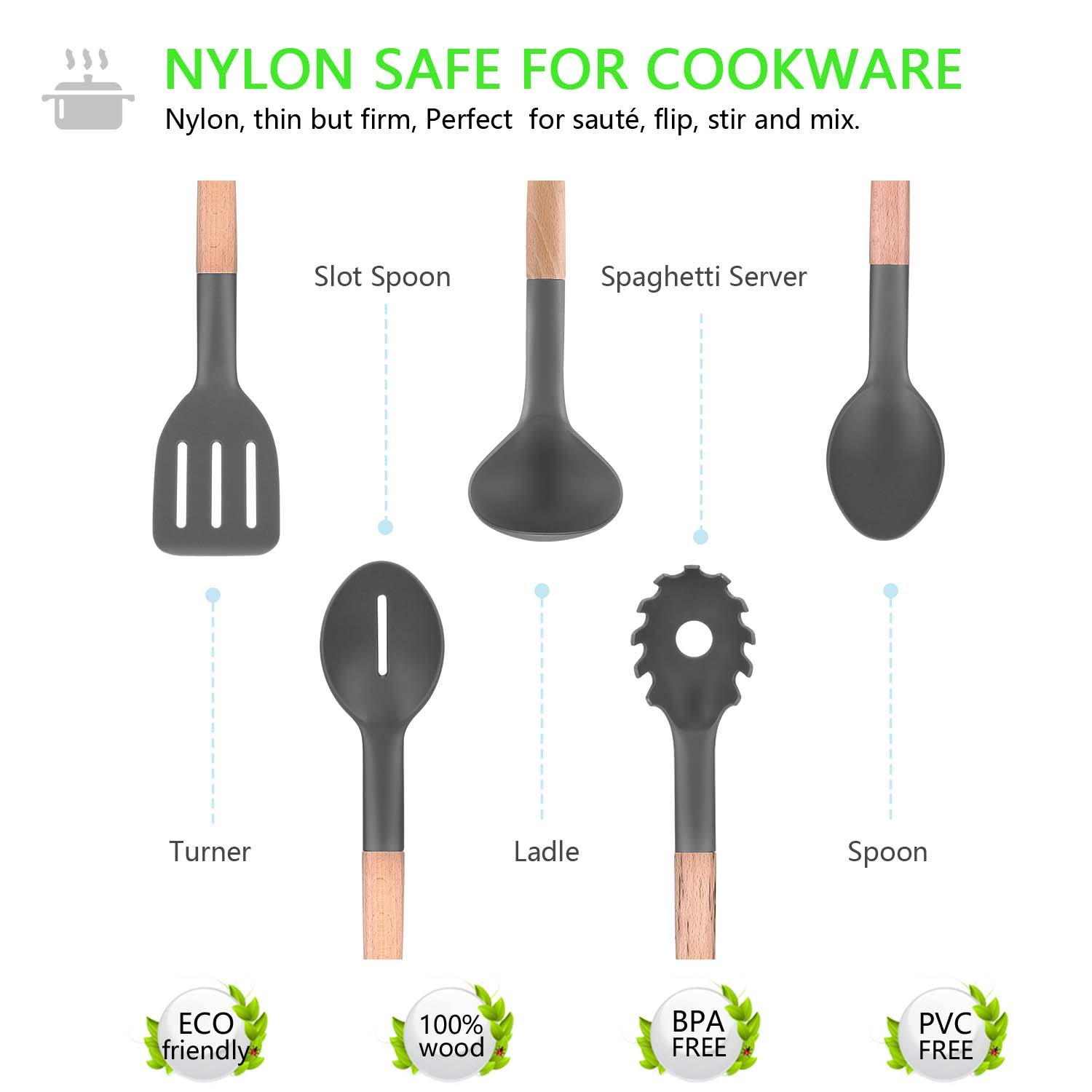 nylon serving spoon