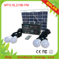 Kit Panel solar casa 10w AM / FM sistema de Radio
