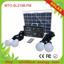 Solar Home Panel Kit 10w bin / FM-Radio System