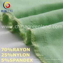 Rayon Nylon Spandex Twill Fabric to Trousers Textile (GLLML456)