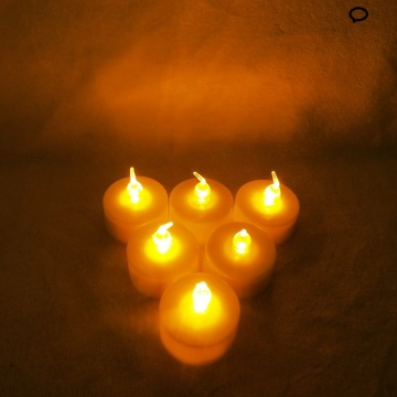 Untuk UAS Led Tealight Candle Yellow Light Berkedip-kedip