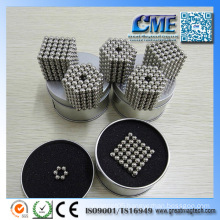 N35 Magnet Toy Neocube with Nickle Coating