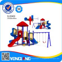 Легкий монтаж замка площадка для маленьких детей, Yl22423