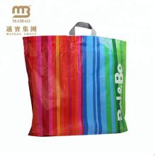 Wholesale Price Biodegradable Flexiloop Handle Custom Shopping Plastic Bag Logo Printed