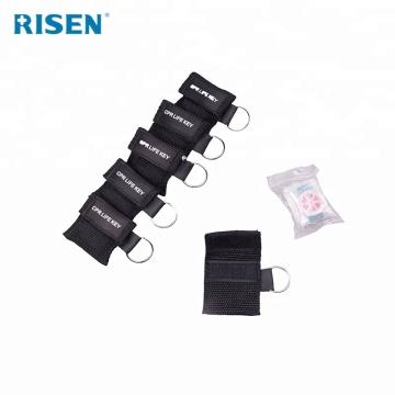Wholesale Hot Sale Mini CPR Mask Keychain