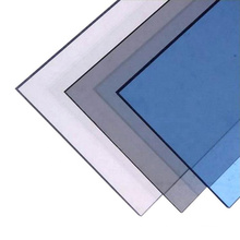 Recyclable 3mm thickness clear hard coating anti-scratch polycarbonate solid plastic sheet  Bathroom shower wall panel